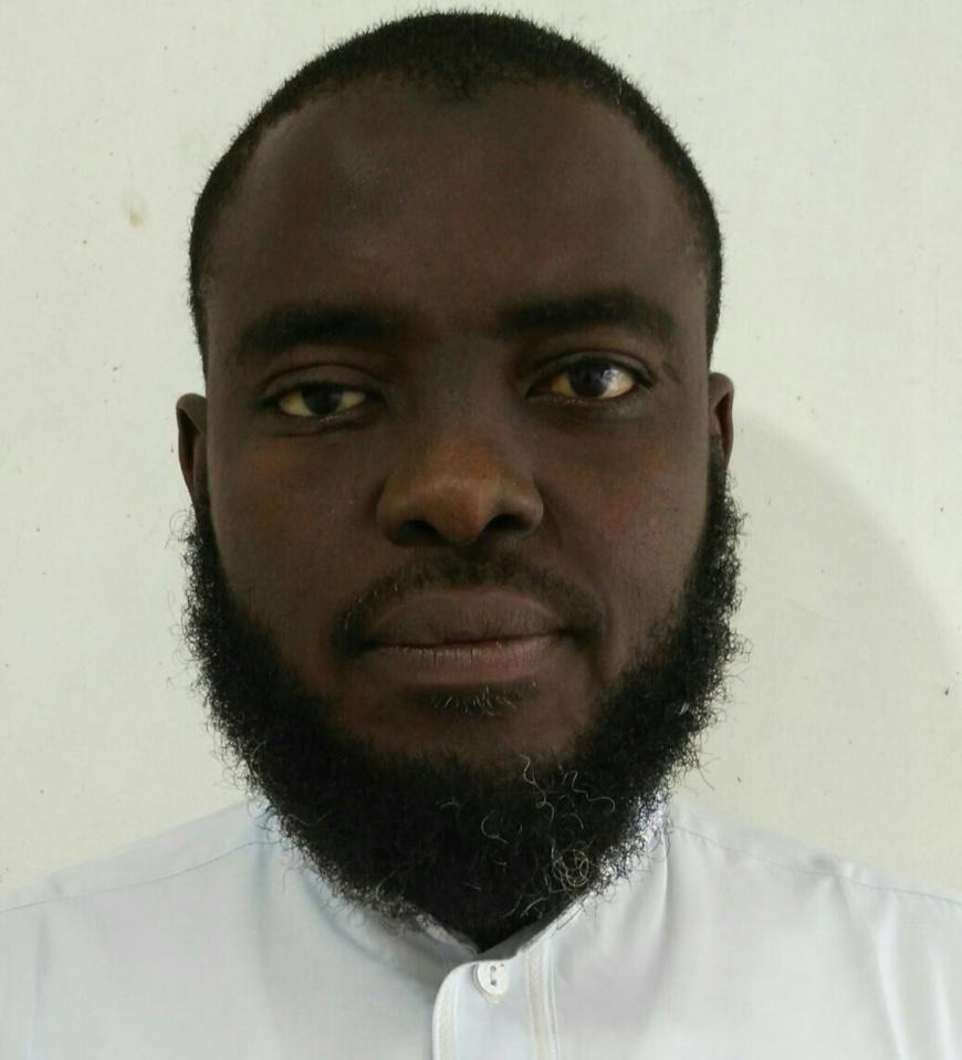 Le fils aîné de la victime, Ibrahim Mahamat. Alwihda Info/D.W.