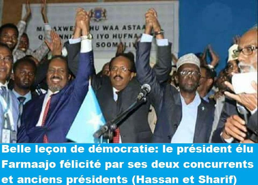 Somalia ha nolato : Et si la victoire de M. Mohamed Abdullahi Farmaajo à l'élection présidentielle était le prélude de la renaissance de la Somalie ?