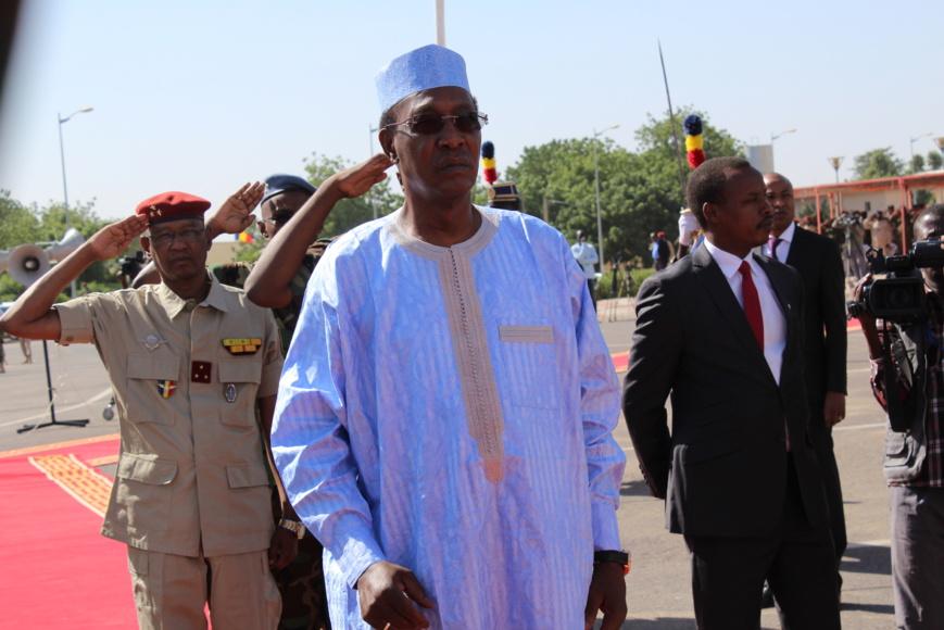 Le Président Idriss Déby. Alwihda Info/D.W.
