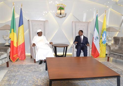 CEMAC : Arrivée du Chef de l'Etat à Oyala.