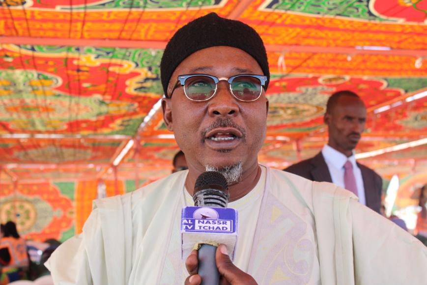 Le ministre de la Sécurité publique et de l'Immigration, Ahmat Bachir. Alwihda Info/D.W.