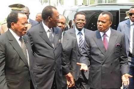 Les chefs d'Etats africain de la CEMAC. Crédit photo : Sources