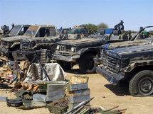 Tchad: Une colonne d'une dizaine de véhicules militaires rallie le M.A.R, selon le Président