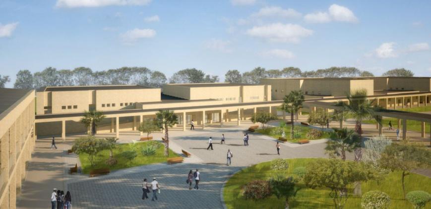 L'Université de Toukra. Crédit photo : Sources