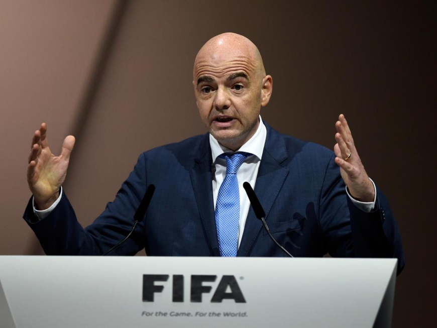 Le président de la FIFA (Fédération Internationale de Football Association), Gianni Infatino. Crédit : Sources