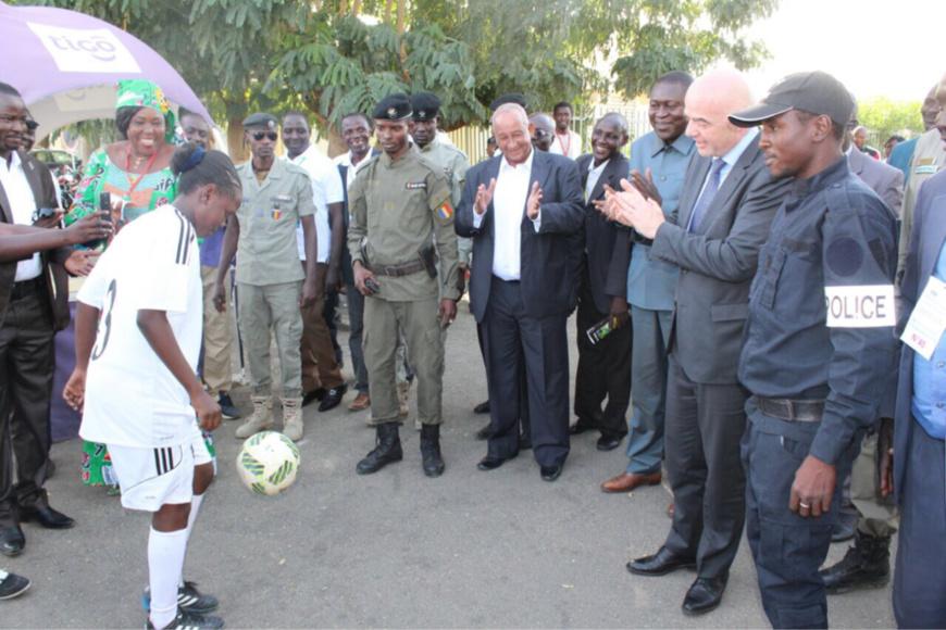 Tchad : Le Président de la FIFA rencontre le Premier ministre