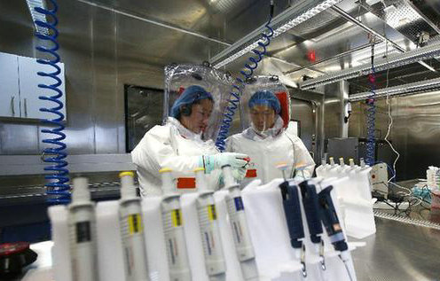 China's first high level biosafety lab ready for service