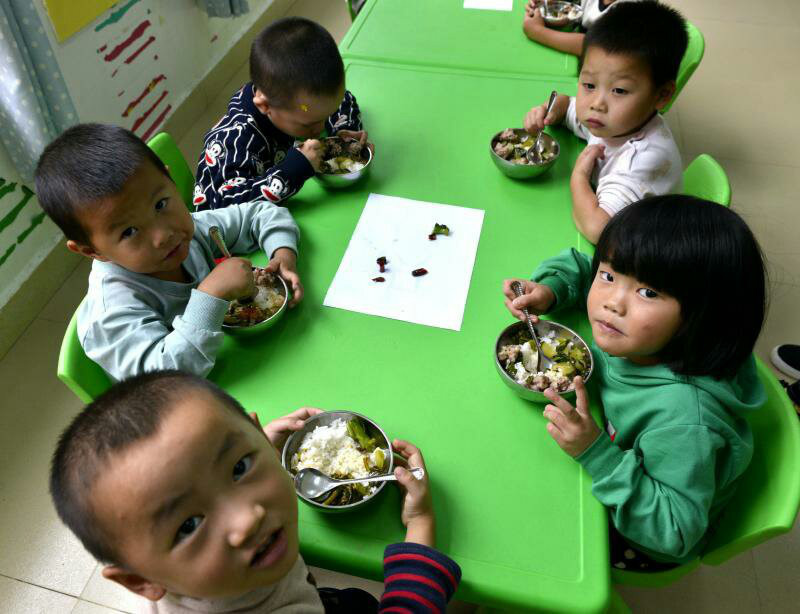 Over 36 million Chinese students benefit from nutrition improvement program