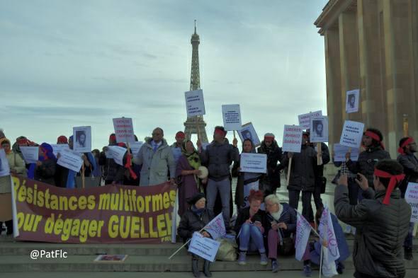 Compte rendu de la double manifestation djiboutienne à Paris contre la venue de Guelleh