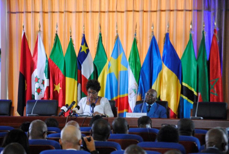 Le ministre Rosalie Matondo à l'ouverture du segment des experts (photo Dépêche de Brazzaville)