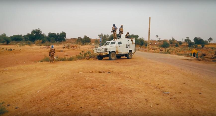 """Au Mali, soldats tchadiens rêvent d'un """"combat face-à-face de 30mn"""" avec l'ennemi caché"""