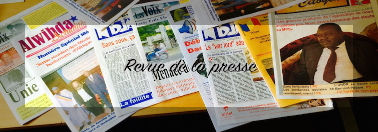 """Tchad : Etat de siège, cri du peuple, lycée de Walia, """"un autre Soweto""""; revue de presse"""
