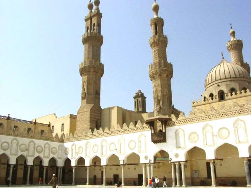 Al-Azhar au Caire. Crédits photo : Sources