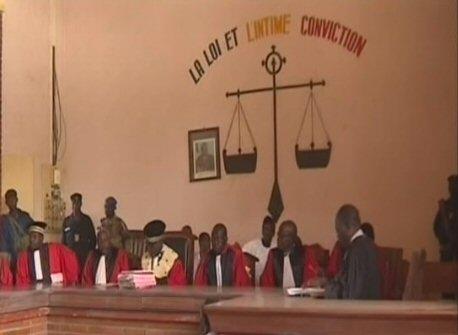 Tchad: Le palais de Justice au Tchad. ©