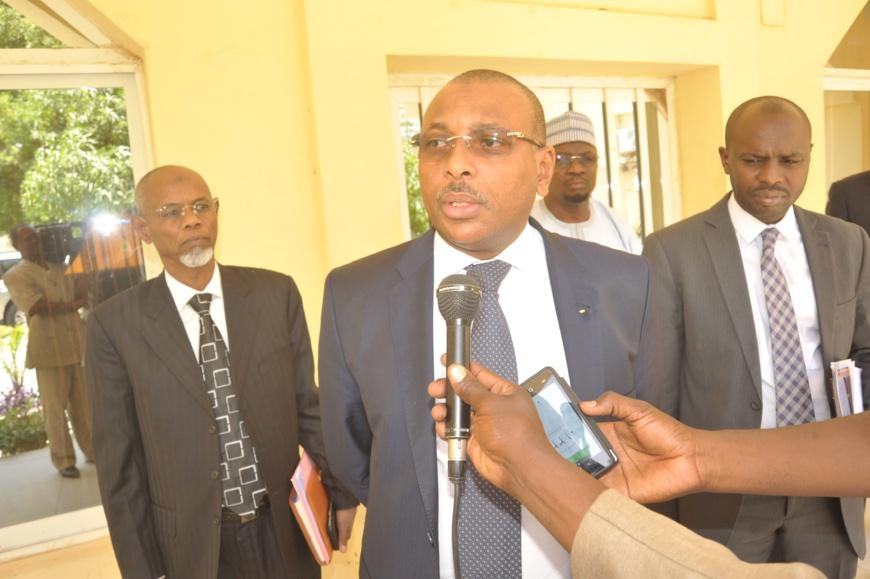 Le Ministre des finances et du Budget Christian Georges DIGUIMBAYE. Crédits : /