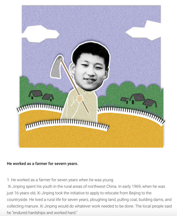 Chinese President Xi Jinping in cartoons published by Finnish media