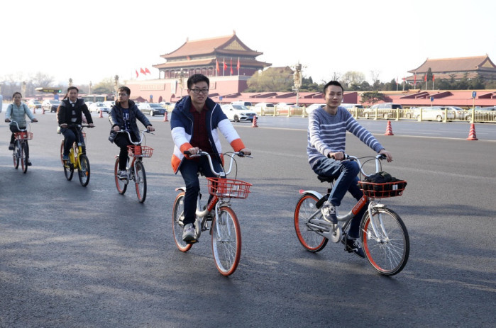 China's bike-sharing firms test the waters in US market