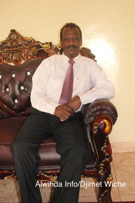 Le président du Mouvement Démocratique Africain (MDA), Mahamat Yoko. Alwihda Info/D.W.