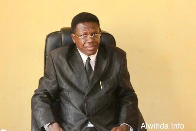 Le doyen de la Faculté de Sciences, Juridique et de Gestion à l'Université Emi-Koussi de N'Djamena, Dr. Evariste Ngarleme Tolde. Alwihda Info