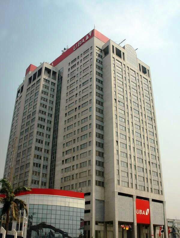 Le siège d'UBA bank.