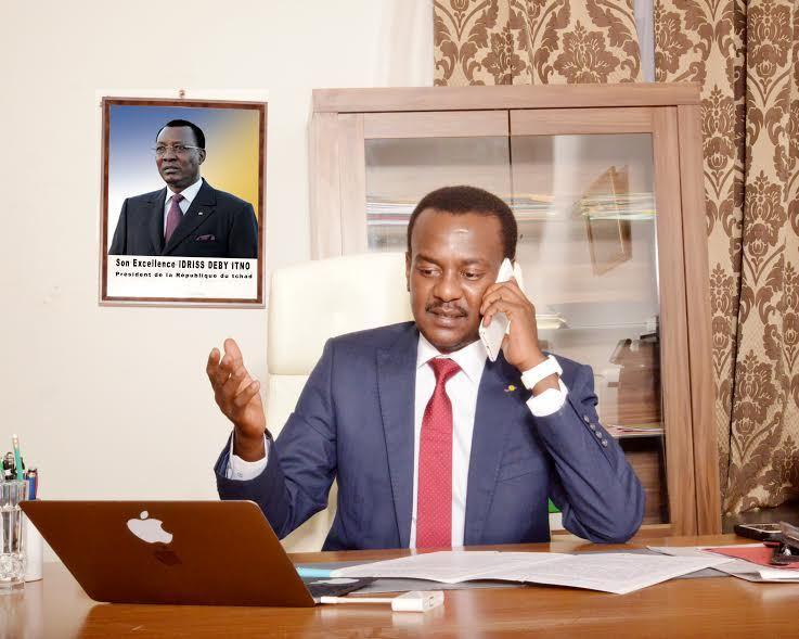 Zakaria Idriss Déby. Crédits photo : Oeil d'Afrique.