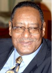 Ministre soudanais de l'Information, Dr.Kamal Obeid