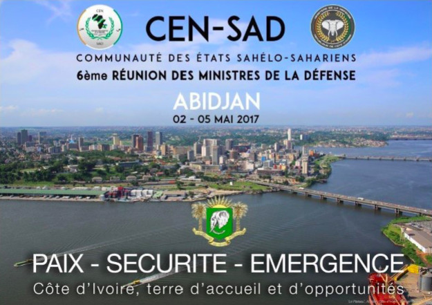 Sécurité : 28 ministres de la défense des Etats Sahélo-sahaliens se réuniront à Abidjan