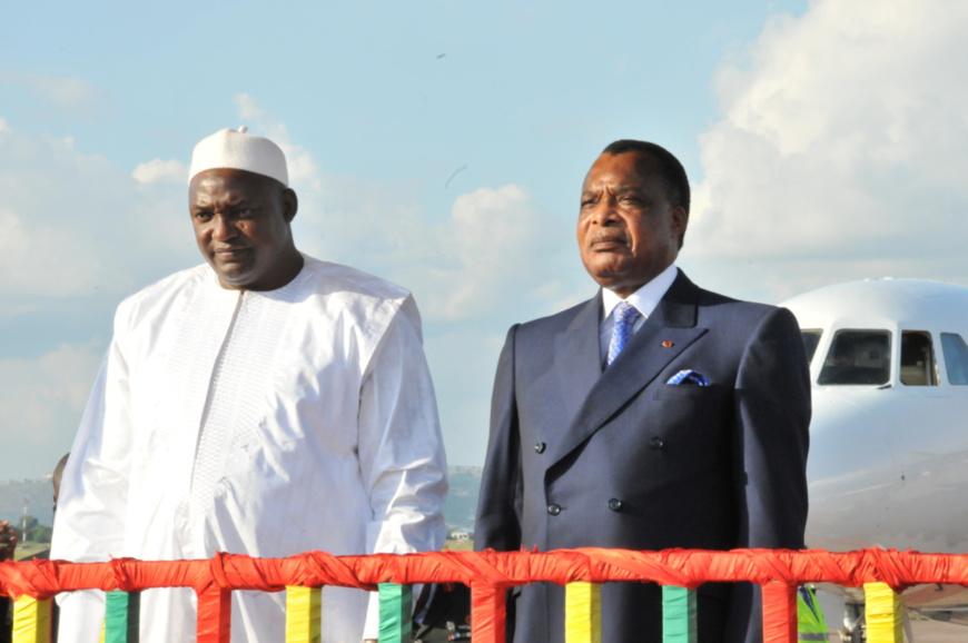 Adama Barrow-Sassou N'Guesso