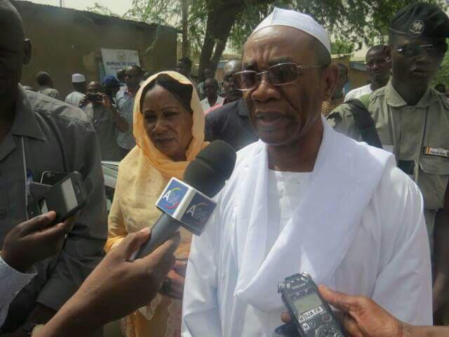 Mahamat-Ahmad Alhabo, candidat du Parti pour les libertés et le développement (PLD) aux présidentielles de 2016, et actuel coordinateur du Front de l'opposition nouvelle pour l'alternance et le changement (FONAC).