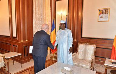Tchad : Une délégation italienne reçue par Idriss Déby