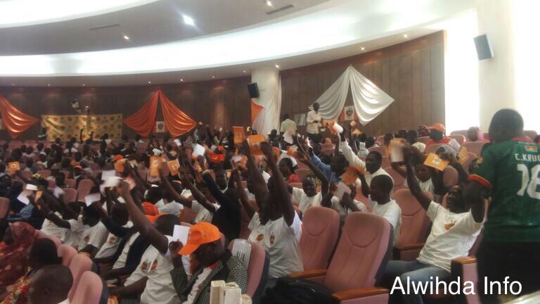 (vidéo) L'UNDR fête ses 25 ans, Kebzabo s'exprime