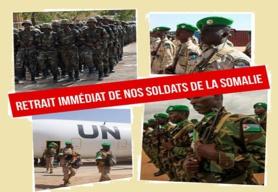 Djibouti/Appel patriotique : Tous ensemble, exigeons le retrait immédiat de nos soldats de la Somalie