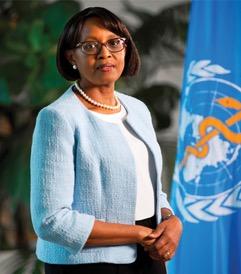 Dr Matshidiso Rebecca Moeti, Directrice du Bureau regional de l'OMS pour l'Afrique
