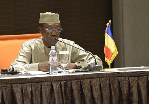 Le Président de la République du Tchad, Idriss Déby a prononcé aujourd'hui un discours lors de la réunion de présentation du rapport sur la réforme institutionnelle de l'Union Africaine, en Guinée Conakry.