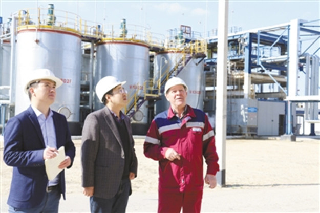 China-invested bitumen plant in Kazakhstan benefits local residents