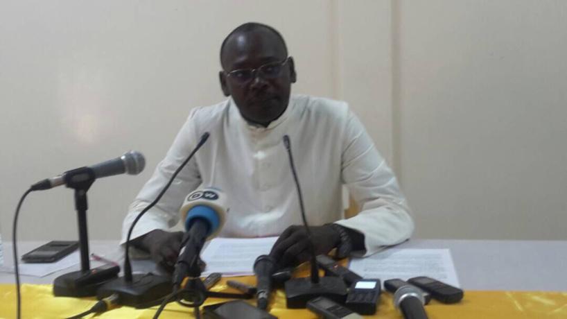 Le secrétaire général de la Conférence Épiscopale du Tchad, M. Labbi Yves Allangomi. Alwihda Info
