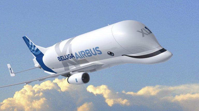 Le futur Beluga d'Airbus aura... le sourire !