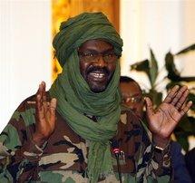 Le leader du Mouvement pour la justice et l'égalité Khalil Ibrahim le 17 février 2009.