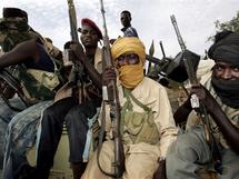 Des rebelles soudanais dans le Nord Darfour, en septembre 2008. (Photo : AFP)