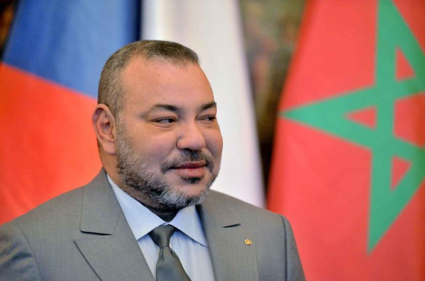 Le roi du Maroc Mohammed VI à Prague, en République tchèque, le 21 mars 2016. - Michal Dolezal/AP/SIPA