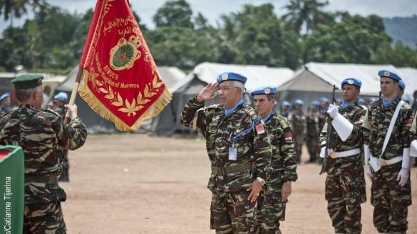 Les soldats marocains en première ligne pour le maintien de la paix et de la sécurité en Afrique et dans le monde