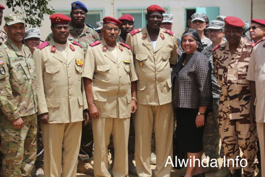 Un partage d'expérience entre militaires tchadiens et américains dans le domaine de la santé