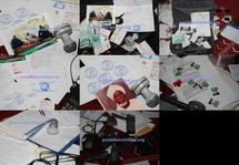 Photos des documents et objets récupérés par l'armée tchadienne sur les rebelles de l'UFR.