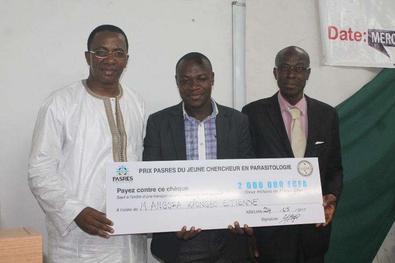 Côte d'Ivoire / Prix Pasres du jeune chercheur en parasitologie : Angora Etienne désigné lauréat de la première édition