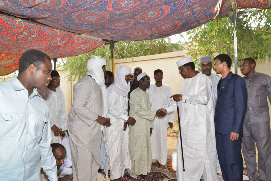 Tchad : Le Président rend hommage à Mahamat Saleh Ahmat Tibek