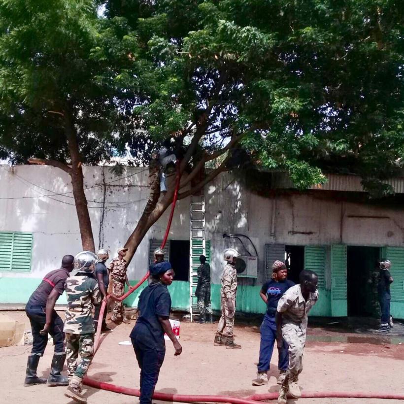Tchad : Un incendie sur un bâtiment du groupe SNER provoque des dégâts matériels. Alwihda Info