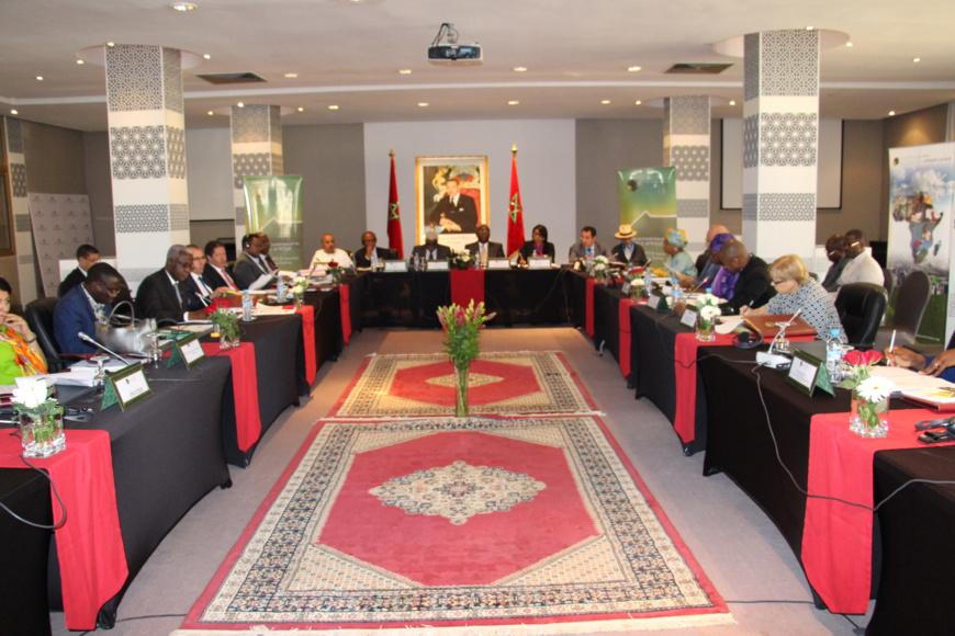 Travaux - 16e Session du Comité Exécutif de Cités et Gouvernements Locaux Unis d'Afrique (CGLU Afrique) (Source: United Cities and Local Governments of Africa (UCLG Africa)