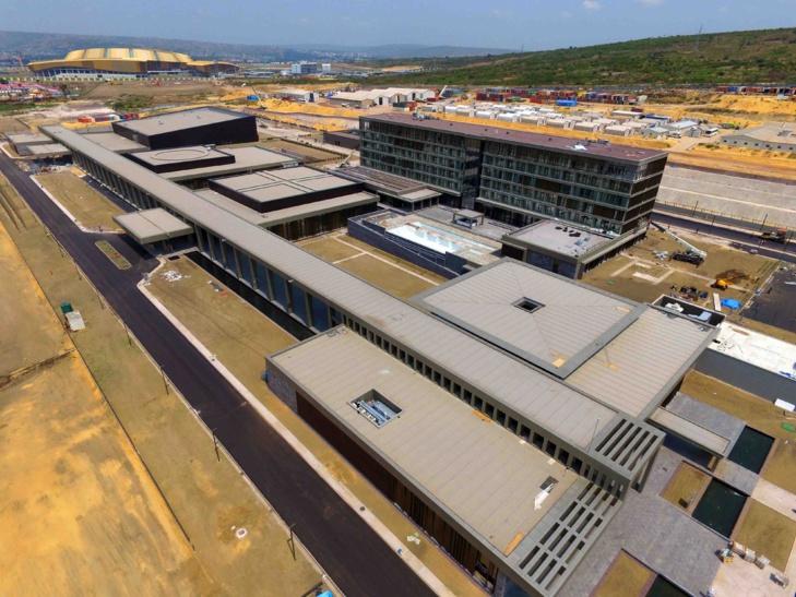 Le centre international de conférence de Kintélé