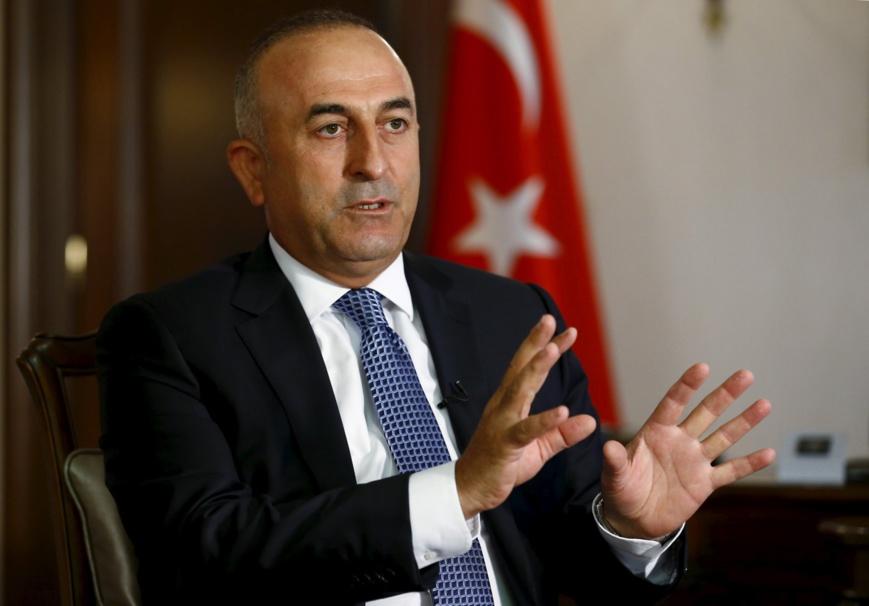 Ministre des Affaires Etrangères de la République de Turquie, MEVLÜT ÇAVUŞOĞLU. Crédits photo : Sources