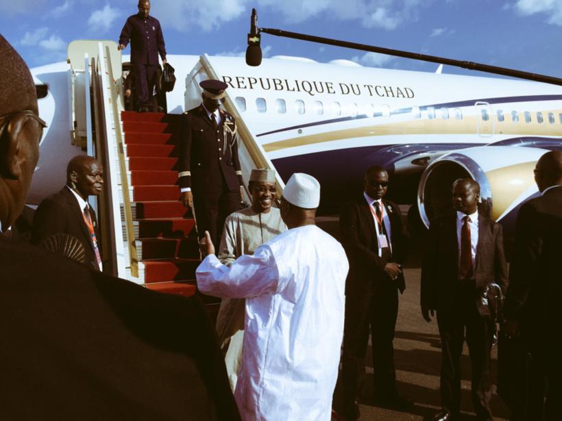 Mali : Idriss Deby arrive à Bamako pour le sommet du G5 Sahel